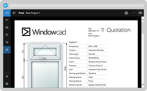 Try WindowCAD in your browser