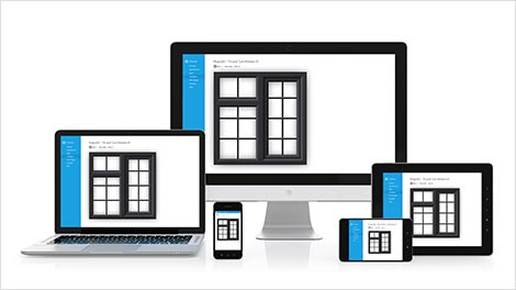 Use windowcad on phones, tablets or desktop